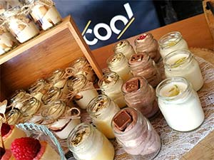 Candy bar na svatbu (dezerty) | Cool catering Brno